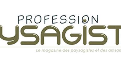 Parution dans le hors série du magazine Profession Paysagiste avril 2017